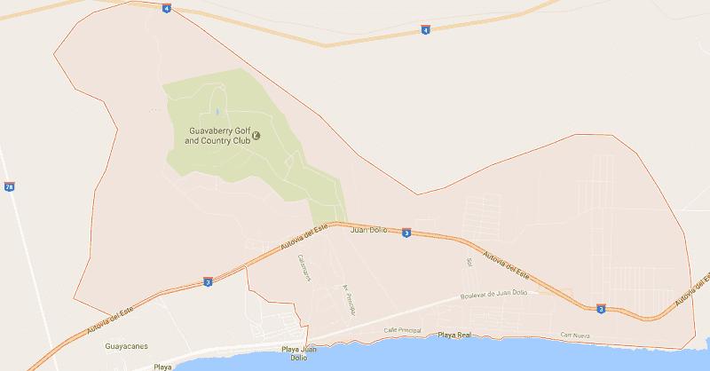 Onde Ficar em Juan Dolio: Mapa