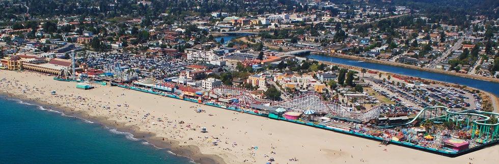 Onde Ficar Em Santa Cruz: Santa Cruz Beach Boardwalk