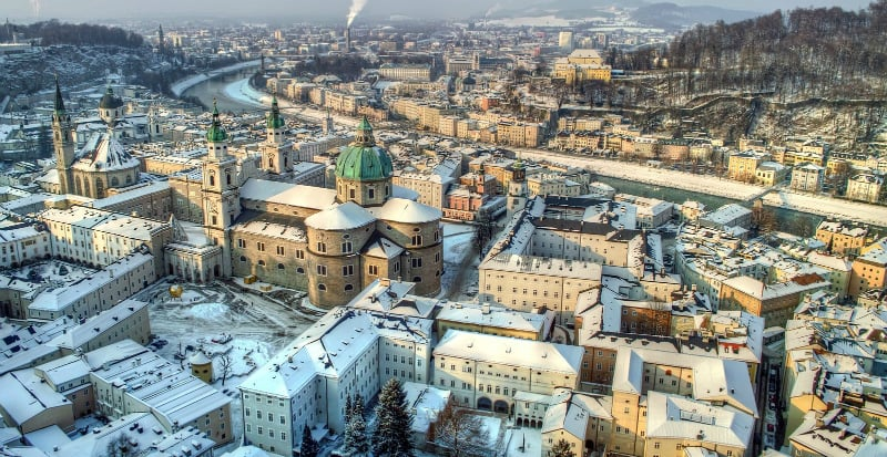 Onde Ficar Em Salzburg na Áustria: Centro