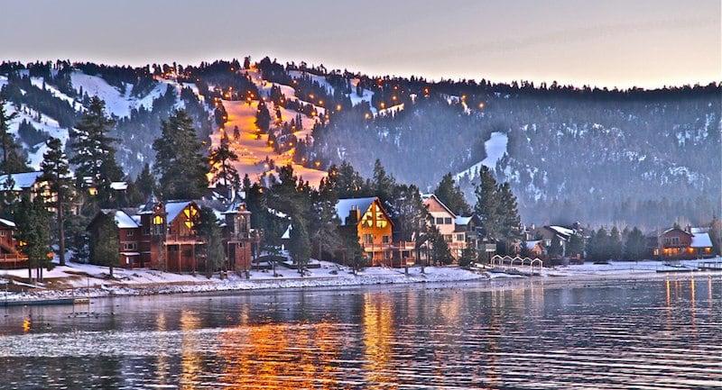 Onde Ficar Em Big Bear Lake: Big Bear Boulevard