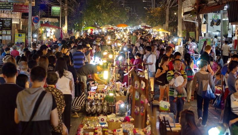 Onde Ficar Em Chiang Mai: Night Bazaar