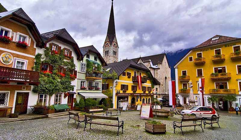 Onde Ficar em Hallstatt na Áustria: Centro