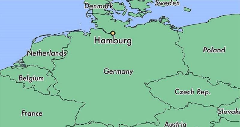 Onde Ficar em Hamburgo: Mapa