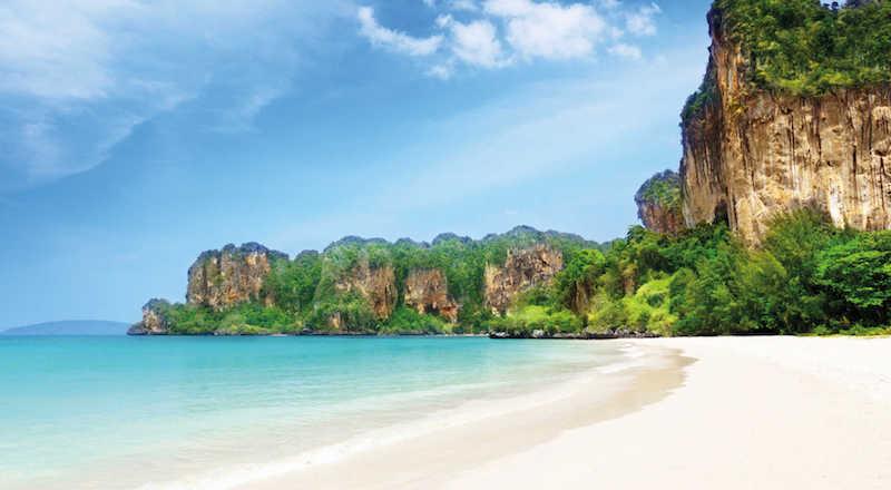 Onde Ficar Na Cidade de Krabi: Railay Beach