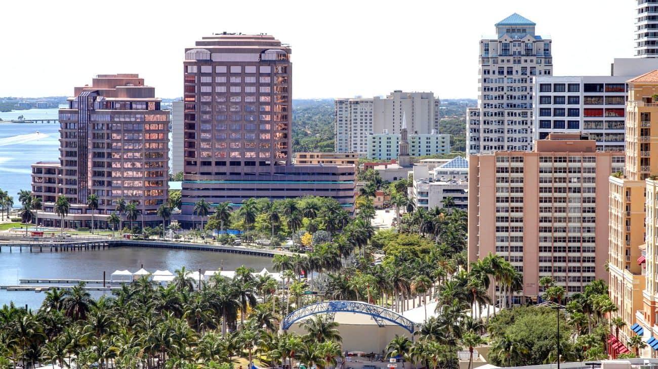 Onde Ficar Em West Palm Beach: Centro