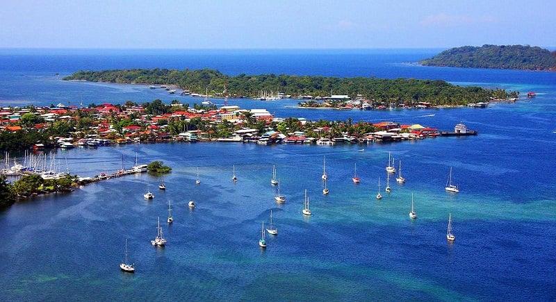 Onde Ficar em Bocas del Toro: Bocas Town