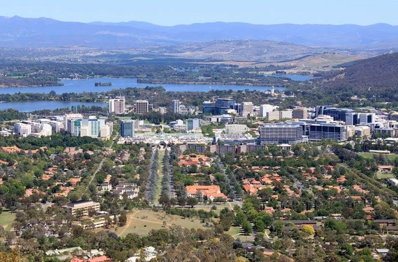 Onde Ficar em Canberra: Centro da Cidade
