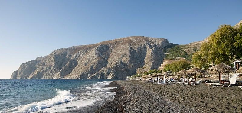 Onde Ficar em Santorini: Kamari