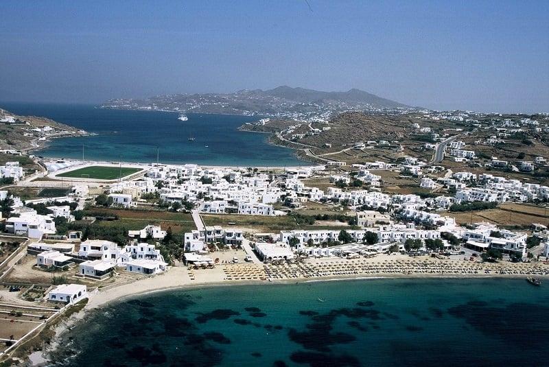 Onde Ficar em Mykonos: Ornos