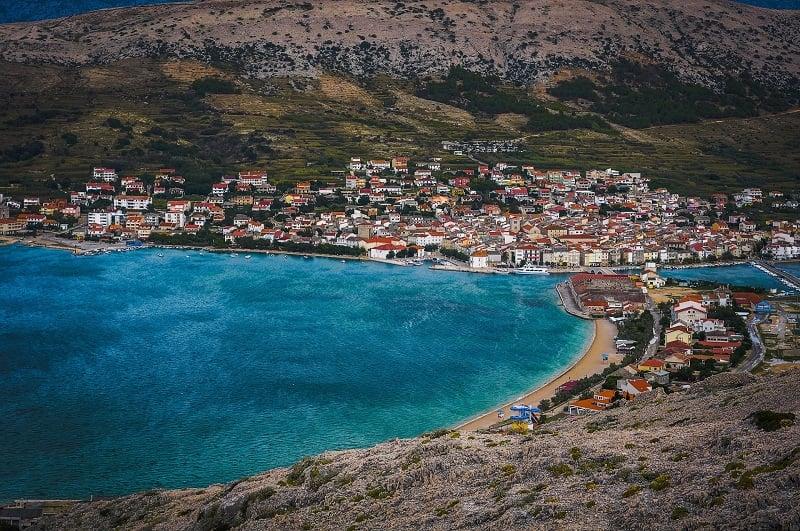 Onde Ficar em Pag Island na Croácia