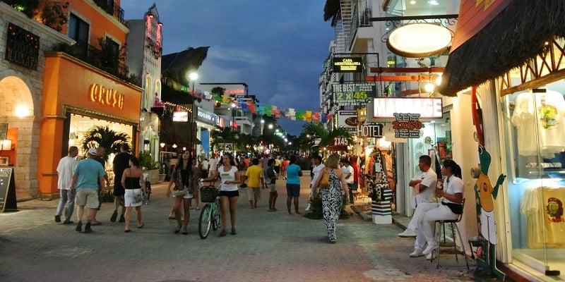 Onde Ficar em Playa del Carmen: Quinta Avenida