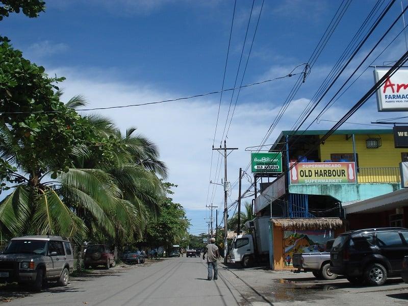 Onde Ficar em Puerto Viejo de Talamanca: Avenida Principal