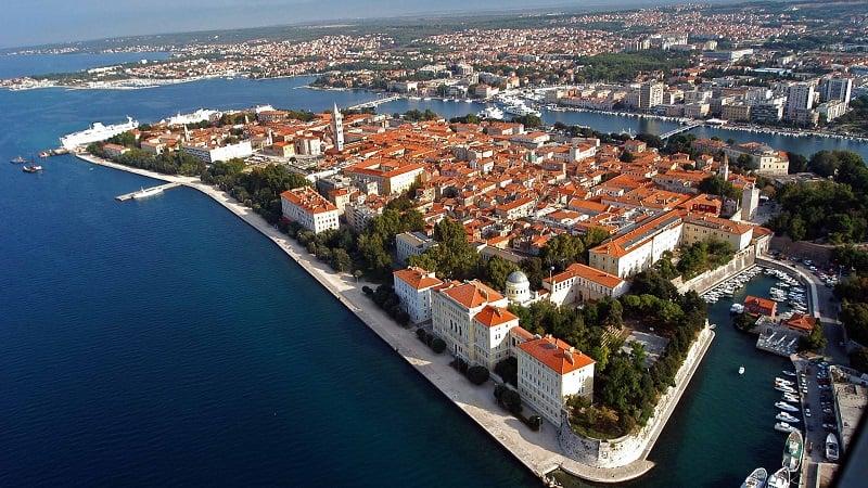 Onde Ficar em Zadar na Croácia