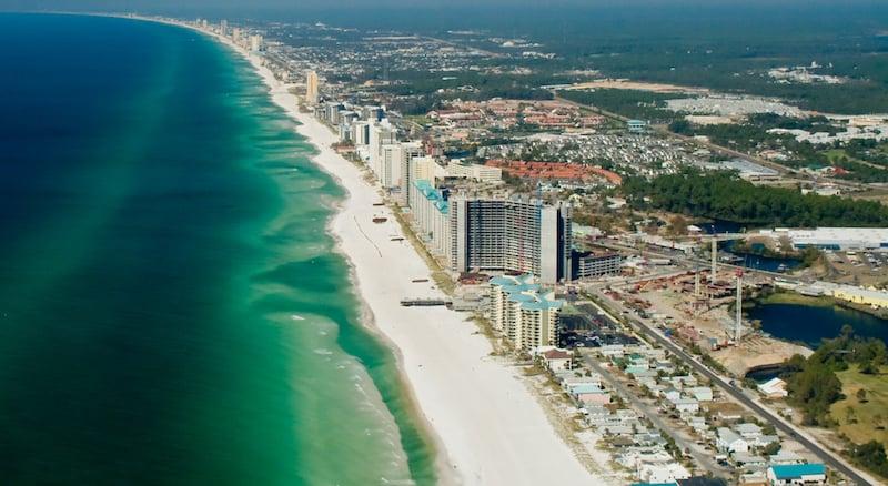 Onde Ficar Em Panama City Beach: Região da Praia