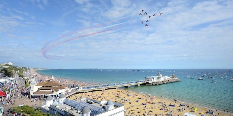 Onde Ficar em Bournemouth na Inglaterra: Região da Praia