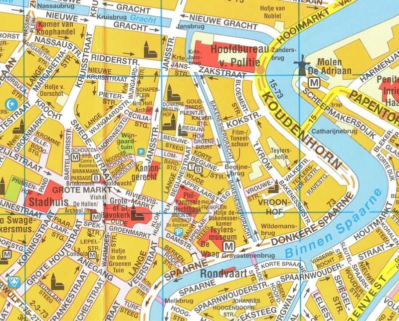 Onde Ficar em Haarlem na Holanda: Mapa
