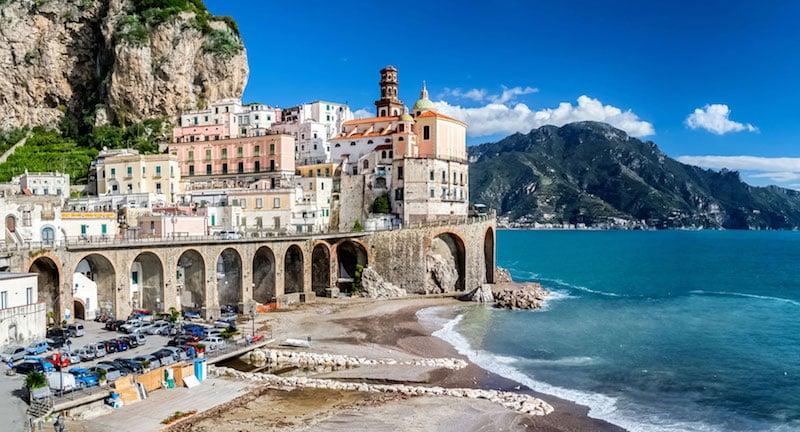 Onde Ficar em Atrani na Itália: Proximidades da praia