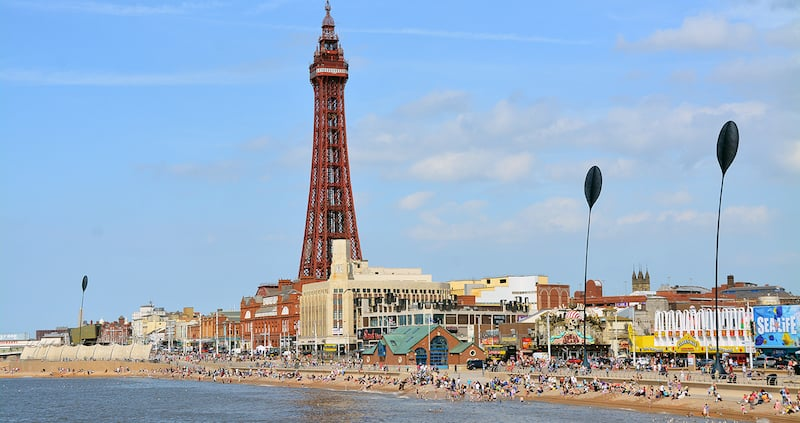 Onde Ficar em Blackpool na Inglaterra: Promenade