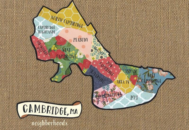 Onde Ficar em Cambridge na Inglaterra: Mapa