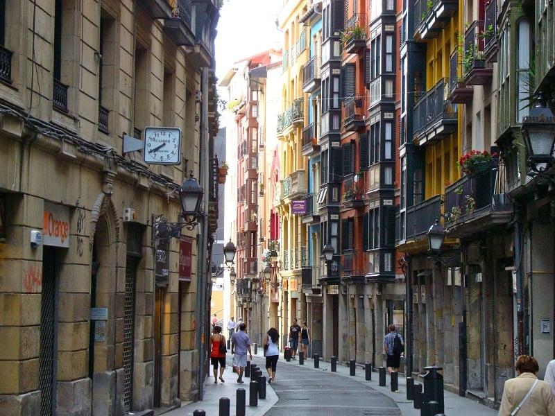 Onde Ficar em Bilbao: Centro Histórico