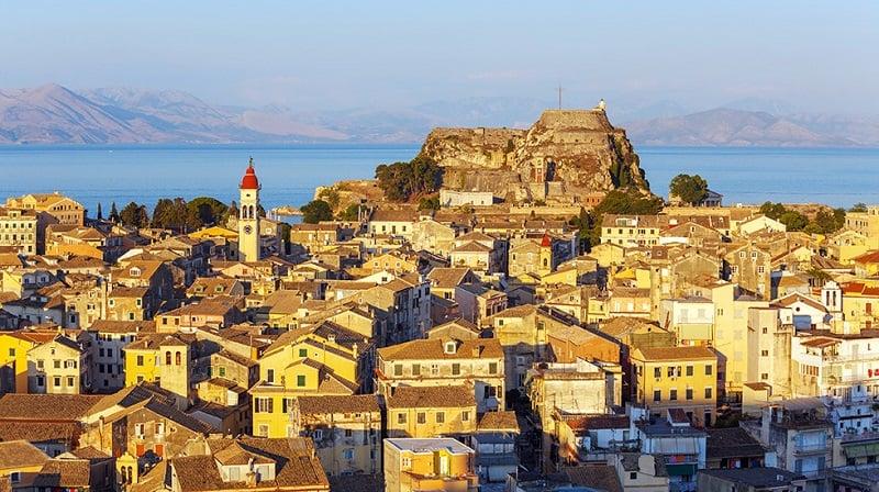 Onde Ficar em Corfu: Cidade de Corfu