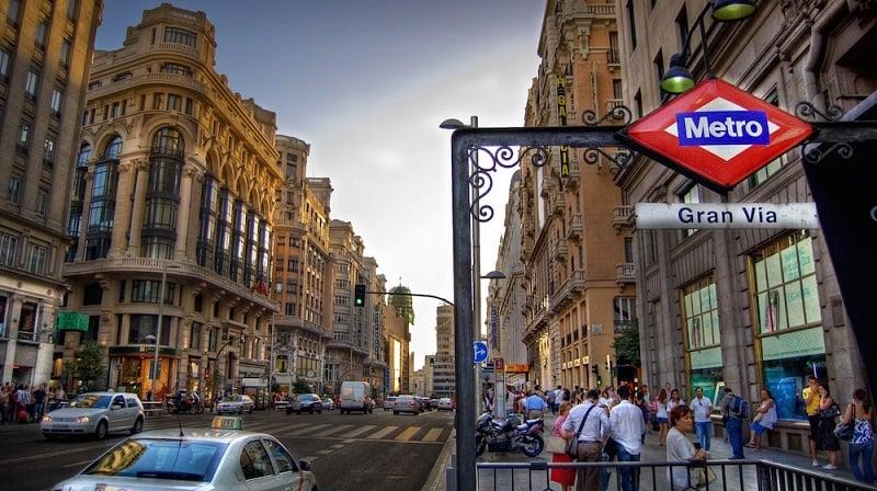 Onde Ficar em Madri: Gran Via