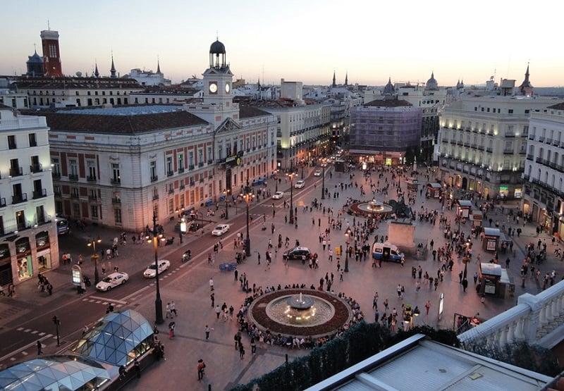 Onde Ficar em Madri: Puerta del Sol