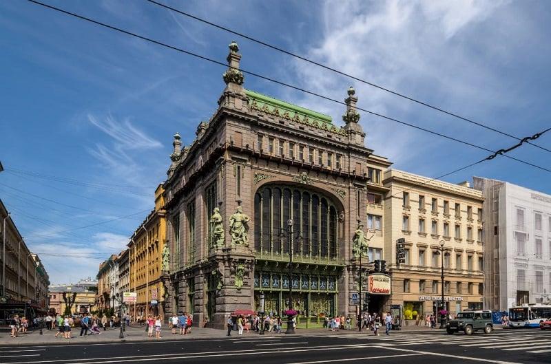 Onde Ficar em São Petersburgo: Avenida Nevsky Prospect