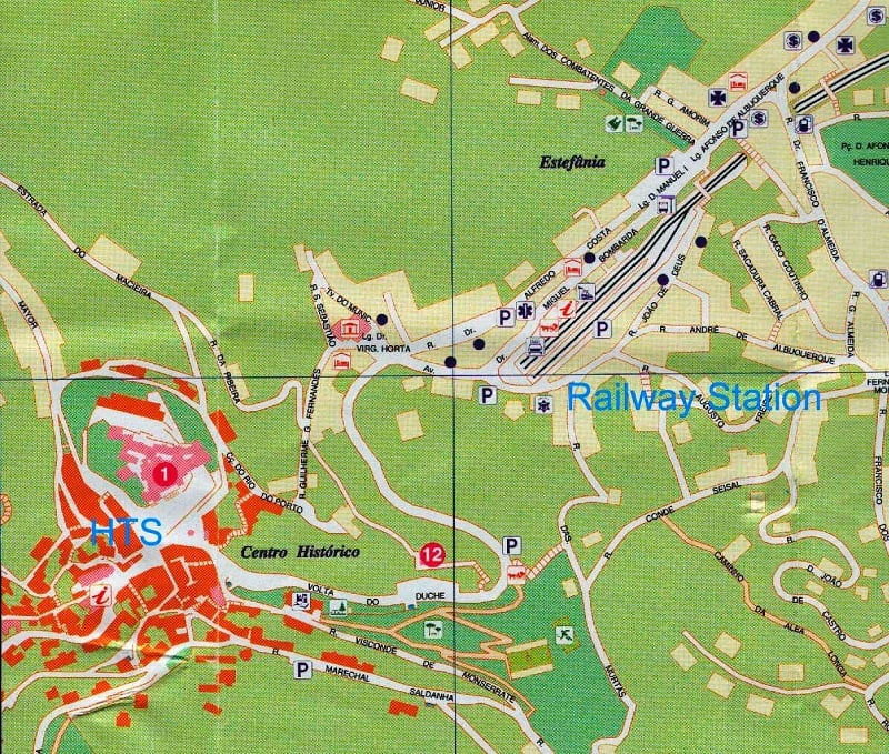 Onde Ficar em Sintra: Mapa