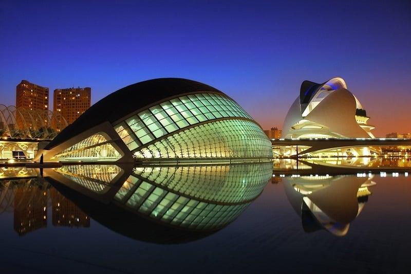 Onde Ficar em Valência: Cidade das Artes e das Ciências