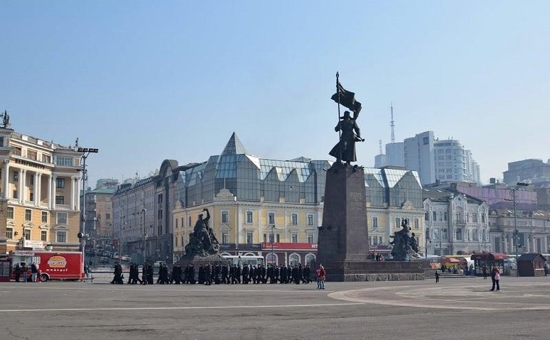 Onde Ficar em Vladivostok: Centro da Cidade