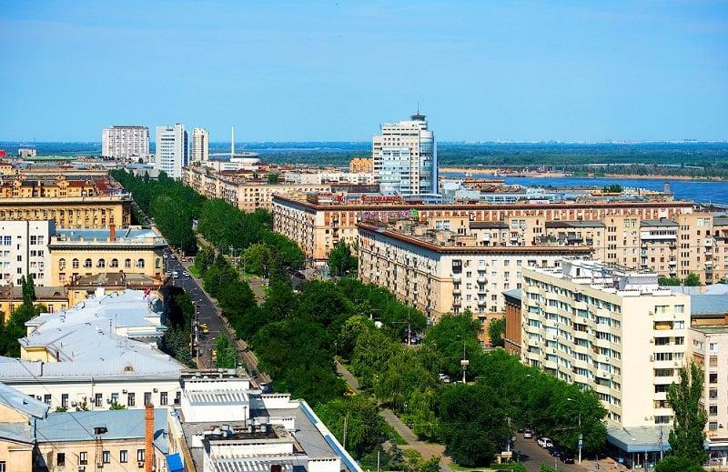 Onde Ficar em Volgograd: Centro da Cidade