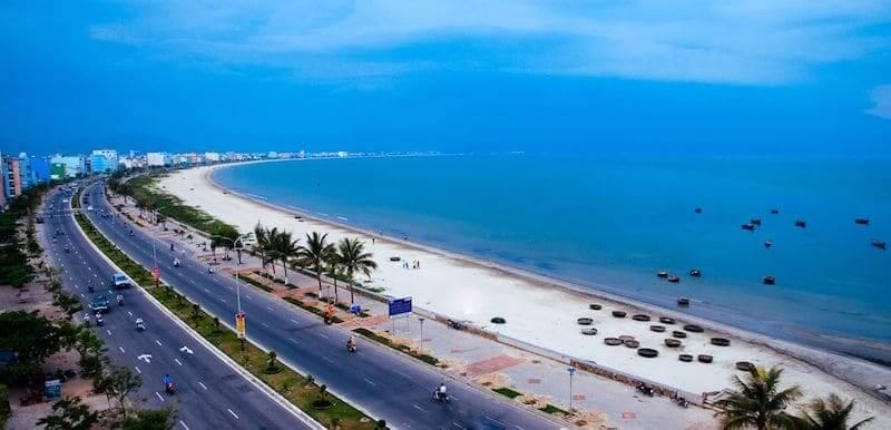 Onde Ficar em Da Nang no Vietnã: Próximo a praia