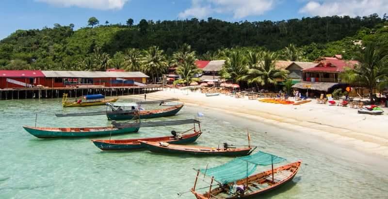 Onde Ficar em Koh Rong Island no Camboja: Próximo a Praia