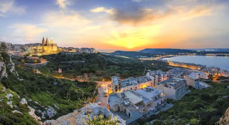 Onde Ficar em Mellieha em Malta