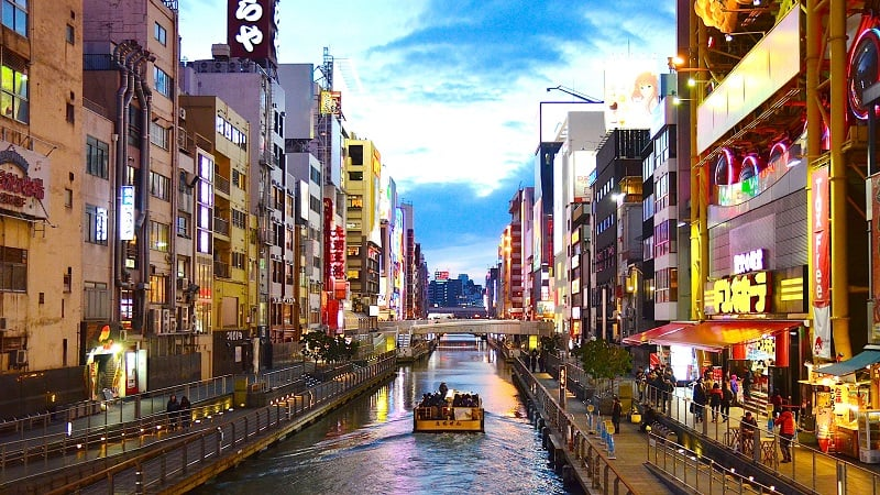 Onde Ficar em Osaka: Namba