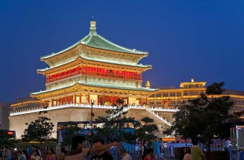 Onde Ficar em Xian: Torre Bell