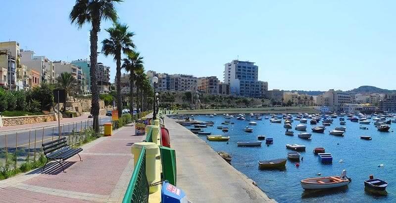 Onde Ficar em St.Paul's Bay em Malta: Próximo a Praia