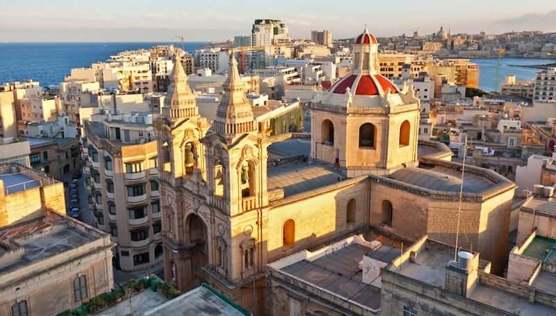 Onde ficar em Valletta em Malta: Centro