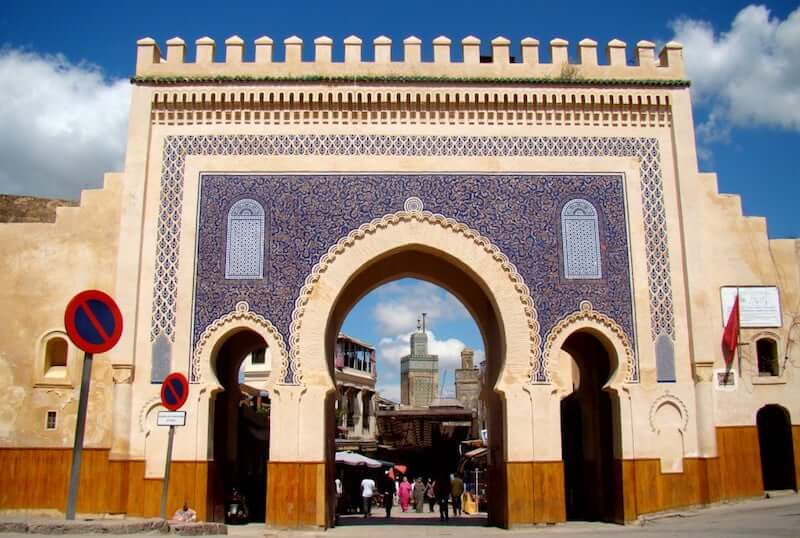 Onde Ficar em Fez no Marrocos: próximo a Puerta Azul
