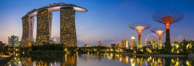 Onde Ficar em Singapura na Singapura: Marina Bay