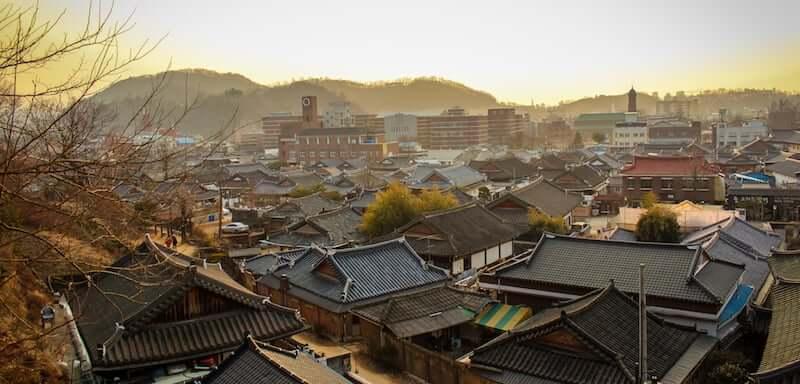 Onde Ficar em Jeonju na Coréia do Sul: Centro