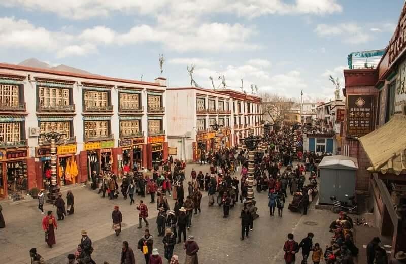Onde Ficar em Lhasa: Cidade Antiga